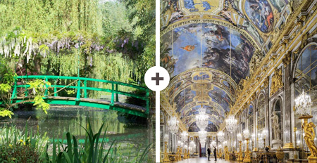 VERSAILLES AND GIVERNY