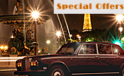 PARIS ROLLS LIMOUSINE TOUR